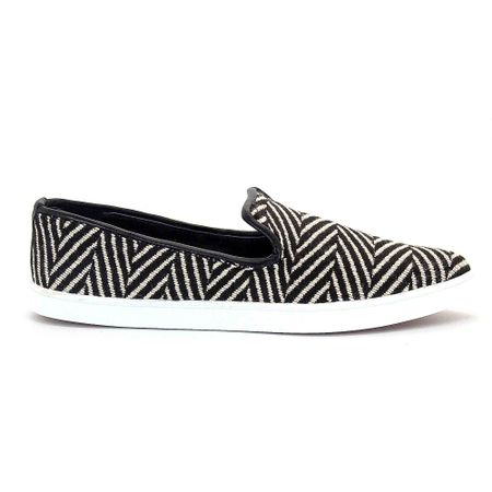 Slip-On-Royalz-Tecido-Estampado-Preto