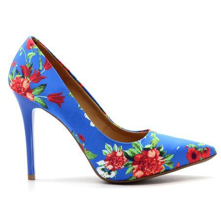 scarpin-royalz-tecido-floral-salto-alto-fino-cravo-azul