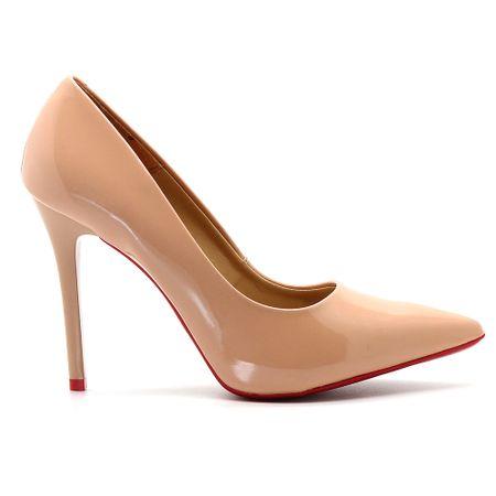 scarpin-royalz-verniz-sola-vermelha-salto-alto-fino-nude-escuro