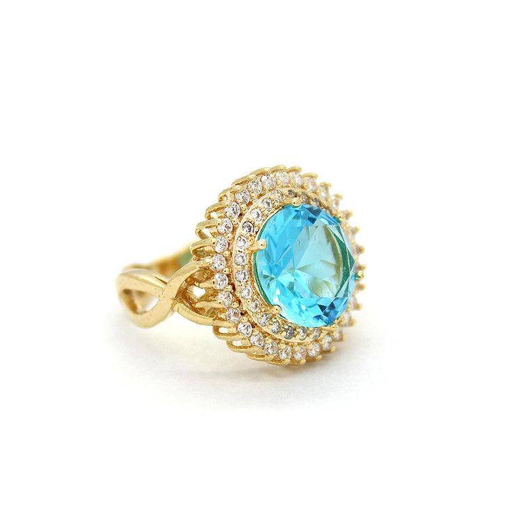 Anel-Semi-Joia-Dourado-Cristal-Azul-Claro