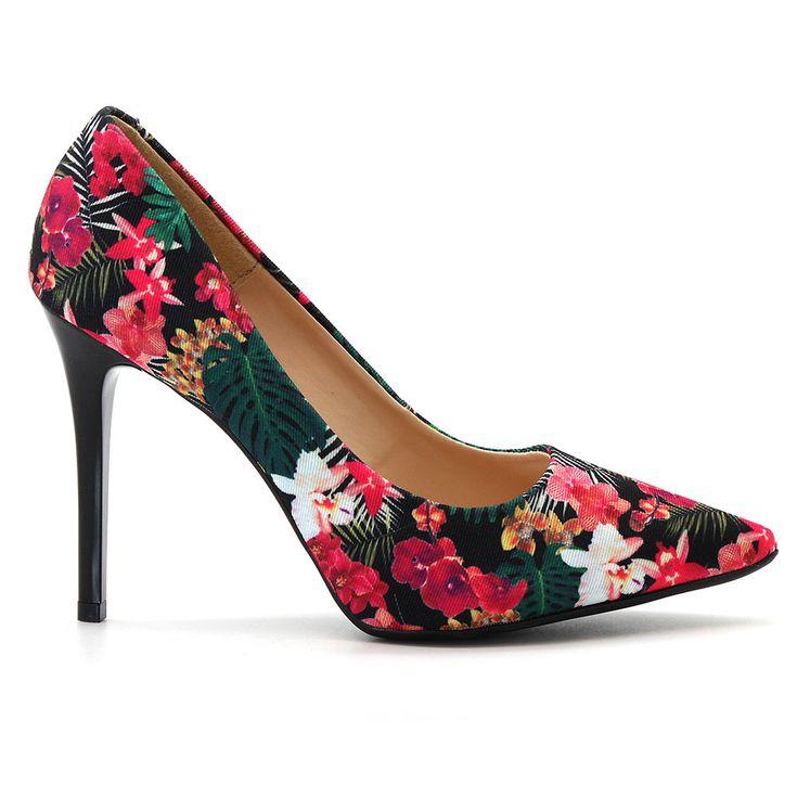 scarpin-royalz-tecido-floral-salto-alto-fino-cravo-preto