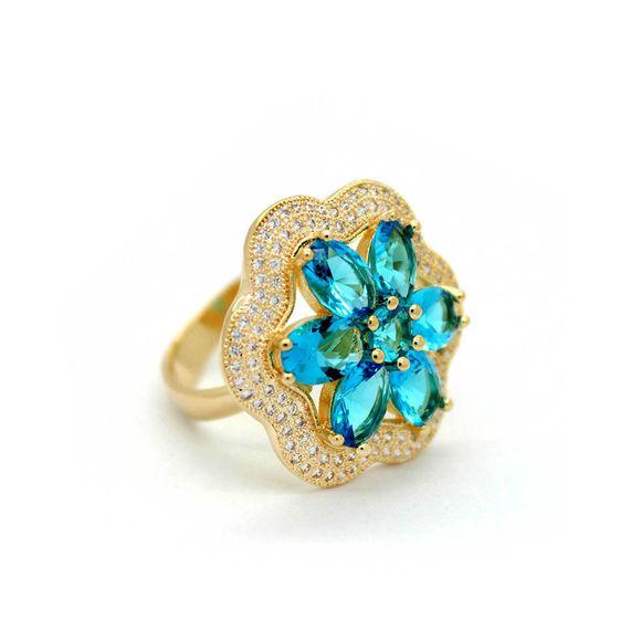 anel-semi-joia-dourado-zirconia-flor-azul-1