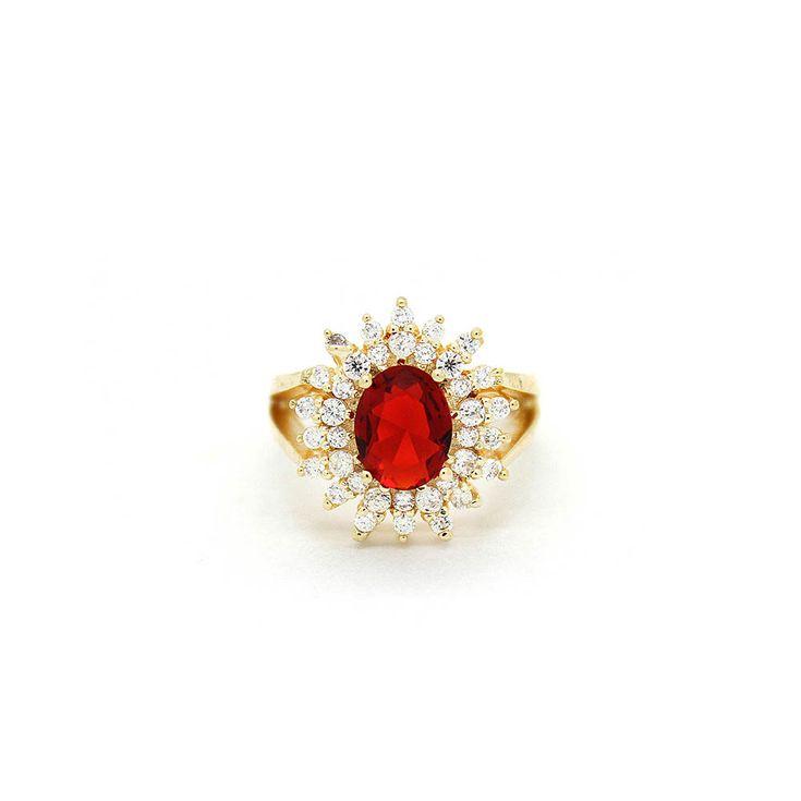 anel-semi-joia-dourado-cristal-vermelho