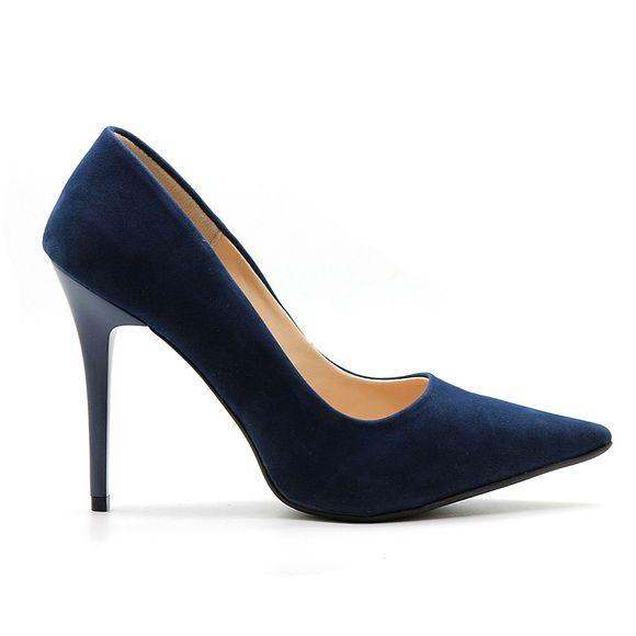 Scarpin-Royalz-Nobuck-Salto-Alto-Fino-Penelope-Azul-Marinho