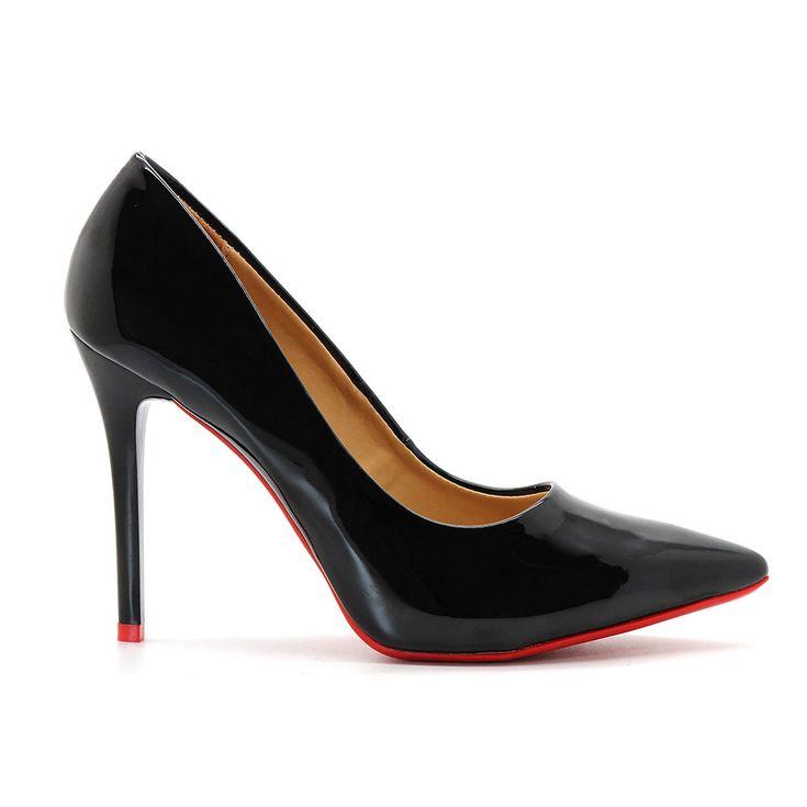 scarpin-royalz-verniz-sola-vermelha-salto-alto-fino-preto