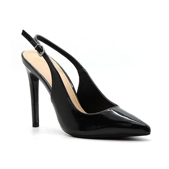 Scarpin-Royalz-Verniz-Chanel-Donna-Salto-Alto-Fino-Preto