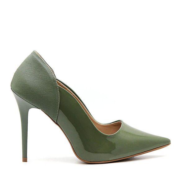 scarpin-royalz-verniz-salto-alto-fino-penelope-curvas-verde-militar