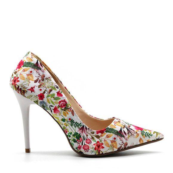 scarpin-royalz-tecido-penelope-flowers-branco