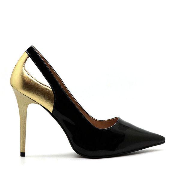 scarpin-royalz-verniz-salto-alto-fino-penelope-val-preto-dourado