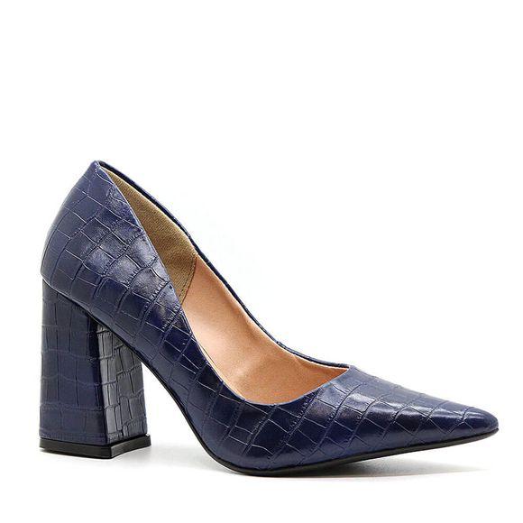 Scarpin-Royalz-Croco-Salto-Grosso-Penelope-Azul-Marinho