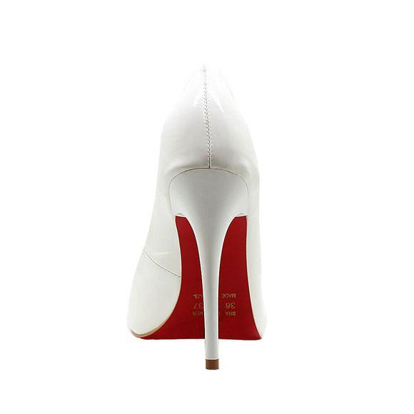 Scarpin-Royalz-Verniz-Sola-Vermelha-Salto-Alto-Fino-Celine-Branco