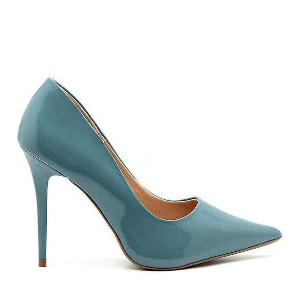 Scarpin-Royalz-Verniz-Salto-Alto-Fino-Penelope-Azul-Jeans