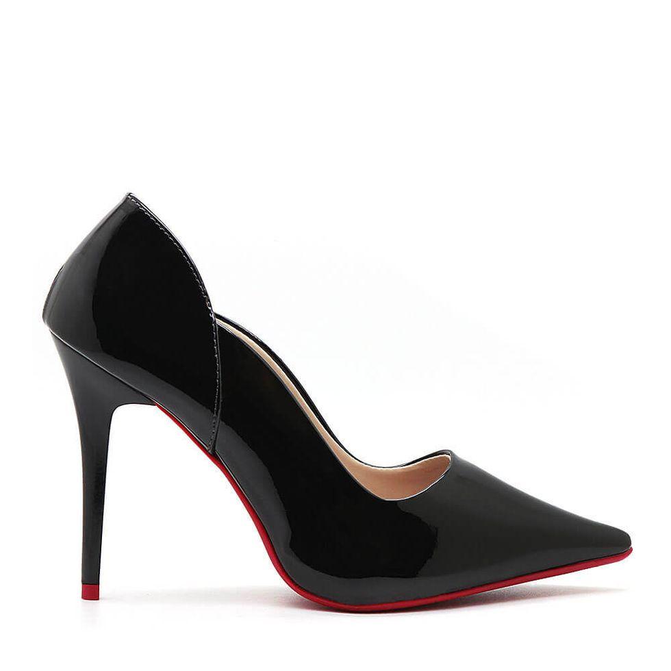 Scarpin-Royalz-Verniz-Sola-Vermelha-Salto-Alto-Fino-Penelope-Vivian-Preto