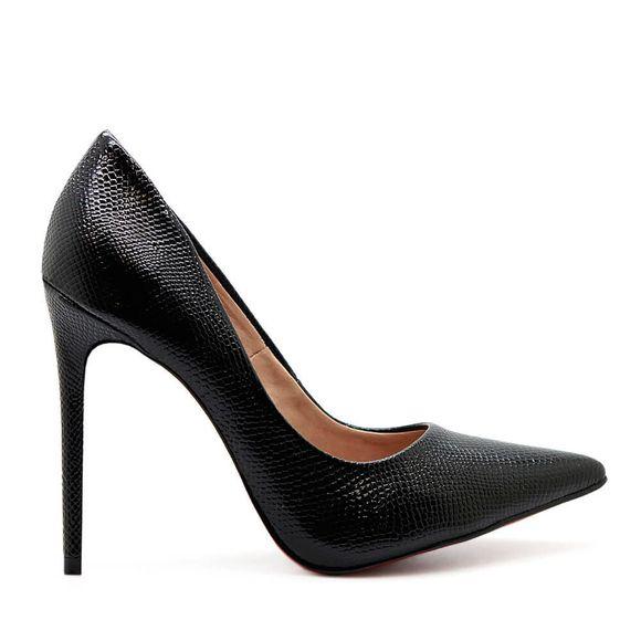 scarpin-royalz-cobra-sola-vermelha-salto-alto-fino-celine-preto