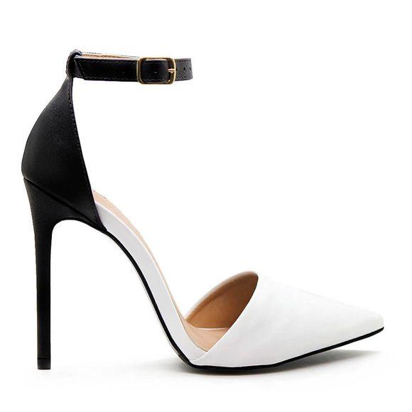 Scarpin-Royalz-Ankle-Strap-Liso-Salto-Alto-Fino-Lana-Off-White