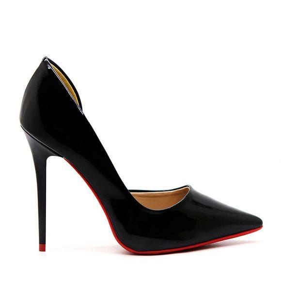 Scarpin-royalz-verniz-abertura-interna-sola-vermelha-salto-alto-penelope-preto